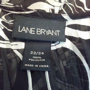 Lane Bryant Tops - Lane Bryant Sheer Open Front Blouse 22/24